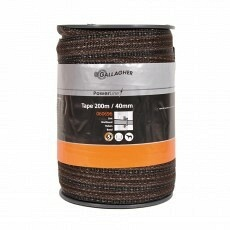 Gallagher Powerline Lint 40mm Terra 200m