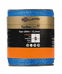 Gallagher Turboline Lint 12.5mm Blauw 200m