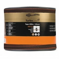 Gallagher Turboline Lint 20mm Terra 200m