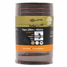 Gallagher Turbostar Lint 40mm Terra 200m